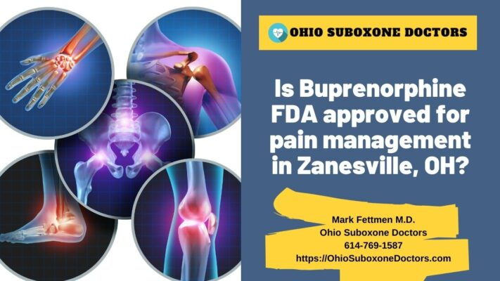 Is Buprenorphine FDA approved for pain management graphic for Ohio Suboxone Doctors
